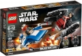 LEGO® 75196 A-Wing™ kontra TIE Silencer™
