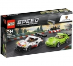 LEGO® 75888 Porsche 911 RSR and 911 Turbo 3.0