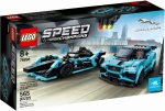 LEGO® 76898 Formula E Panasonic Jaguar Racing GEN2 car i Jaguar I-PACE eTROPHY