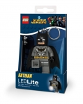 LEGO®  Brelok do kluczy z latarką - LEGO® DC Super Heroes™ Grey Batman™