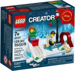 LEGO® 40107 Winter Skating Scene