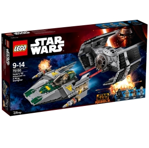LEGO® 75150 TIE Advanced kontra myśliwiec A-Wing