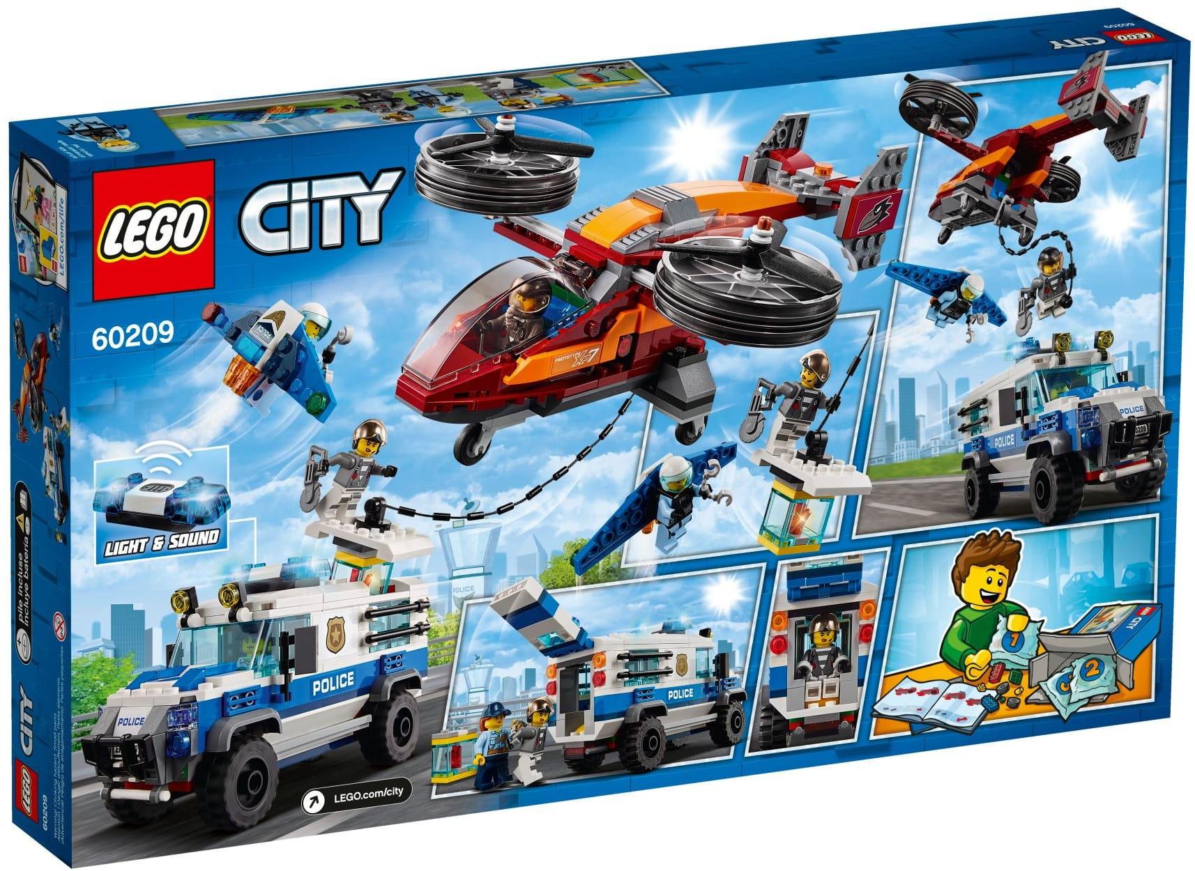 Lego 60209 Rabunek Diamentów Manami Sprzedaż Klocków Lego I